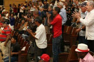 La Asamblea Nacional aprobó en tercer debate el proyecto que establece el bono para los jubilados.
