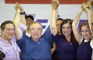Judy Meana pertenece al Partido Molirena que se unió en alianza con el PRD.