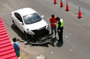 Ser registraron atropellos y colisiones. Foto: Eric A. Montenegro.