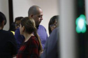 Hidadi Santos Saavedra, el único imputado en este caso, era amigo de Eduardo Calderón. Foto de Edwards Santos