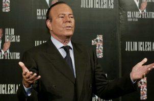 Julio Iglesias. Foto: Archivo