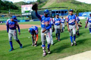 Jugadores de Panamá Este. Foto:Anayansi Gamez
