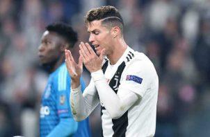 Cristiano Ronaldo  de la Juventus: Foto:AP