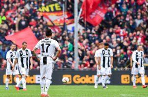 La derrota no afecta el liderato  de la Juventus.