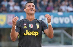 Cristiano Ronaldo de  la Juventus. Foto:AP