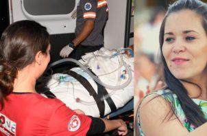 Karina Lima fue intervenida dos veces, en lapso de 48 horas.