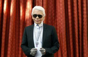 Karl Lagerfeld. AFP