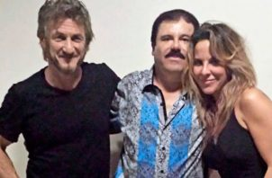 Sean Penn, El Chapo y Kate del Castillo.