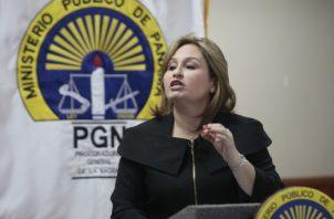 La procuradora de la Nación, Kenia Porcell, fue nombrada en 2015 por un período de 10 años.