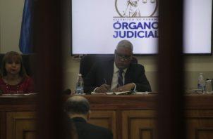 La audiencia se realizó a puerta cerrada y la misma estuvo dirigida por el magistrado Jerónimo Mejía.