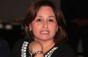 Procuradora interesada en caso que se le sigue al exdiputado del Parlacen, Ricardo Martinelli. Foto/Archivos