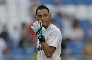 Keylor Navas es pretendido por el PSG. Foto AP