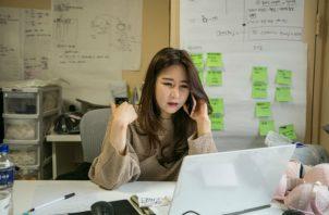 """Kim Min-kyung inició su compañía de lencería con """"esfuerzo adicional"""". Foto/ Jean Chung para The New York Times."""