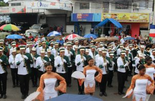 Para el desfile del 28 de Noviembre del 2017 unas 60 delegaciones escolares asistieron al desfile en La Chorrera.