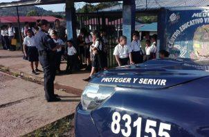 Los ladrones penetraron a la dirección del centro escolar en La Chorrera a través del techo.