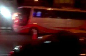 La mujer viajaba en un autobús de la ruta La Chorrera - Panamá.
