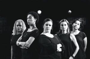 """Actúan en """"Ladies at the Alamo"""", en Theatre Guild. Foto: Cortesía."""