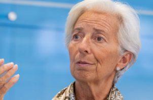 Lagarde, abogada de formación y con una amplia experiencia política, no es economista.Foto/Efe