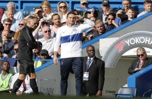 Lampard hizo un llamado a mantener la calma.