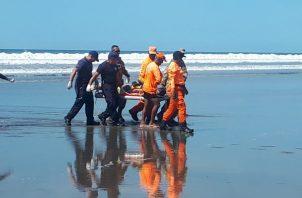 En lo que va del año se han registrado cuatro muertes por inmersión en la provincia de Chiriquí. Foto/Mayra Madrid