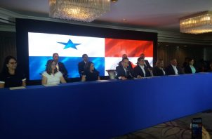 Laurentino Cortizo designa solo a cinco mujeres en un gabinete de 14 ministros. Foto: Adiel Bonilla.