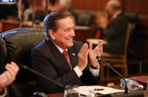 El presidente Laurentino viajó a la Asamblea General de la ONU junto a una comitiva gubernamental.