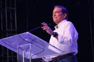 Laurentino Cortizo Cohen, presidente de la República.