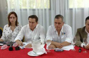 Laurentino Cortizo se encuentra en la provincia de Chiriquí. Archivo