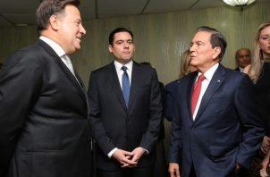 Laurentino Cortizo anunció que el 90% de su gabinete ya esta conformado.