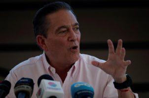 """Laurentino """"Nito"""" Cortizo es el presidente electo de Panamá. Foto EFE"""