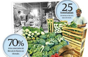 Según los reportes, ya se han dado aumentos en el precio de la zanahoria, papas, brócoli, plátano verde, lechuga, tomate, cebolla y guandú, debido a las lluvias que han afectado algunas cosechas.