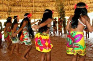 En Panamá existen siete lenguas indígenas.  Archivo