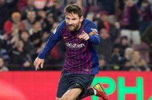 Messi no fue titular.