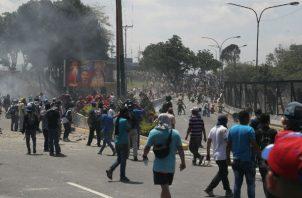 Comunidad internacional apoya al presidente encargado de Venezuela, Juan Guaidó. Foto/EFE