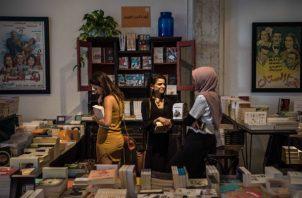 Libros libaneses fueron vetados de una feria del libro. Foto/ Sergey Ponomarev para The New York Times.