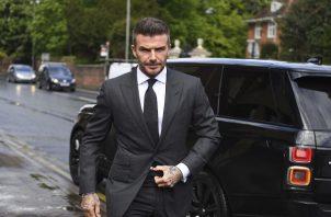 David Beckham  evitó dar declaraciones.
