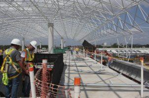 Cinco estaciones de la Línea 2 del Metro estarán listas para la JMJ. Foto: Panamá América.