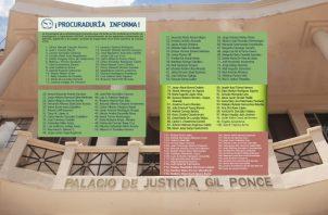 Dentro de la lista de 129 abogados y abogadas, hay juristas de gran trayectoria. Ilustración de Epasa