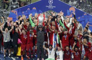 Liverpool nuevamente vuelve a reinar en europa. Foto:AP