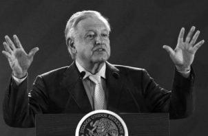 El presidente mexicano Andrés Manuel López Obrador, el 8 de marzo de 2019, dos días antes de cumplir los 100 primeros días en el poder. Foto: EFE