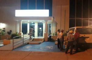 La audiencia se extendió hasta entrada la noche del miércoles en Chitré. Foto: Thays Domínguez.