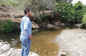 En un recorrido por el Estivaná permitió comprobar que existen tramos que no mantienen agua,. Foto/Thays Domínguez