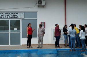 La población tableña espera el resultado de las investigaciones sobre este homicidio.Foto: Thays Domínguez.
