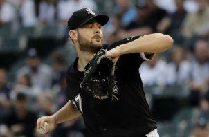 Lucas Giolito lanzó hasta el séptimo inning para sumar su novena victoria en fila. Foto AP