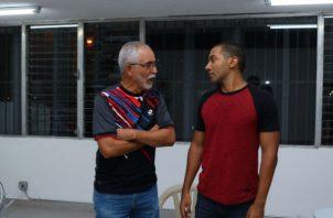 Lucho Gotti y Augusto Posso. Foto: Cortesía.