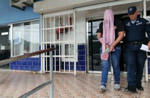 Luciel Amir Bethancourt fue aprehendido luego de acudir al Ministerio Público (MP) para informar del supuesto robo del taxi que el conducía. Foto/Eric Montenegro