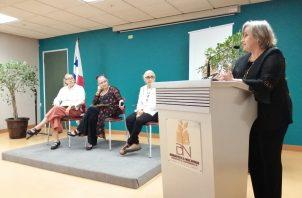 Delia Cortés, Luz Lezcure, Consuelo Tomás y Leonor Calderón. Foto: Cortesía.