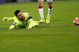 Messi no pudo mostrar su magia.