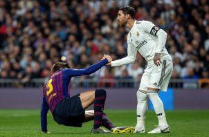 Barcelona ha mandado en el Bernabéu.