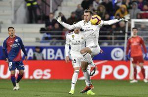 Gareth Bale rescató al Madrid.